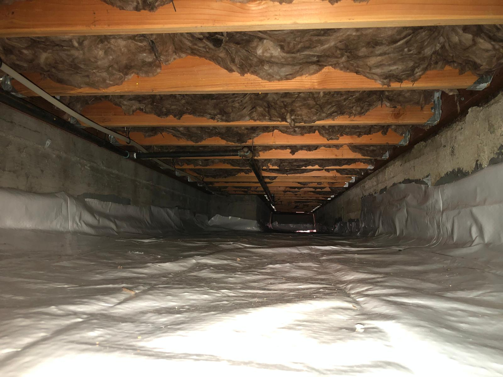 Crawlspace vapor barrier in Oakland CA | Residential & Commercial Insulation Vapor Barrier